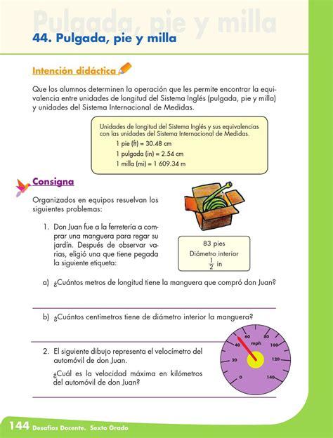 issuu libro de matemticas contestado desafios matematicos docente 6 186 sexto grado primaria by