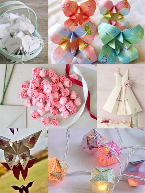 origami wedding ideas images
