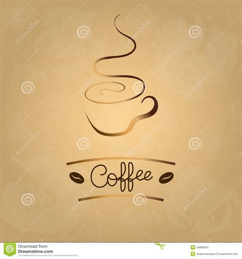 Coffee Cup Designs by Coffee Menu Royalty Free Stock Photos Image 34889918