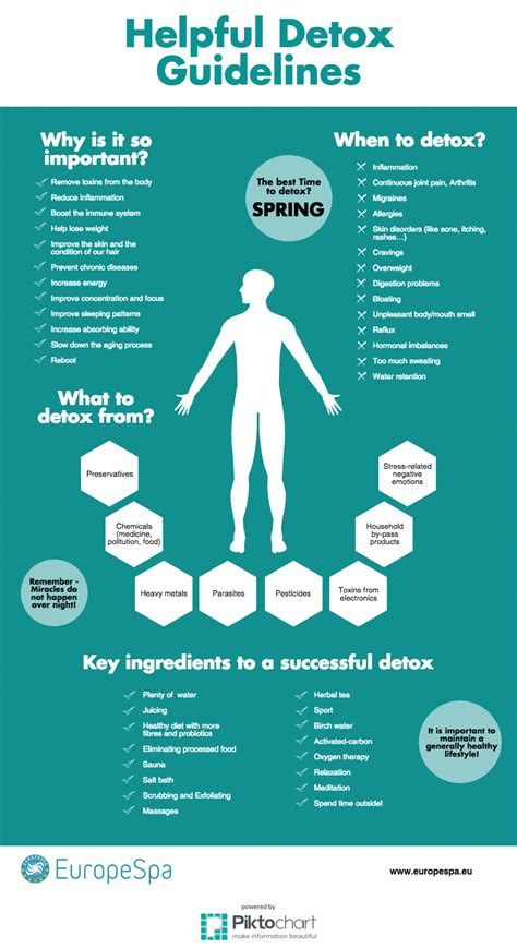 Detox Guidelines by 6 Helpful Detox Guidelines Europespa