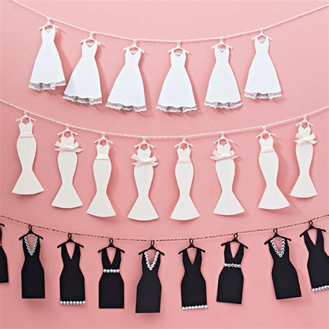 Make Wedding Banner by This Mini Wedding Dress Bunting Banner Is Just