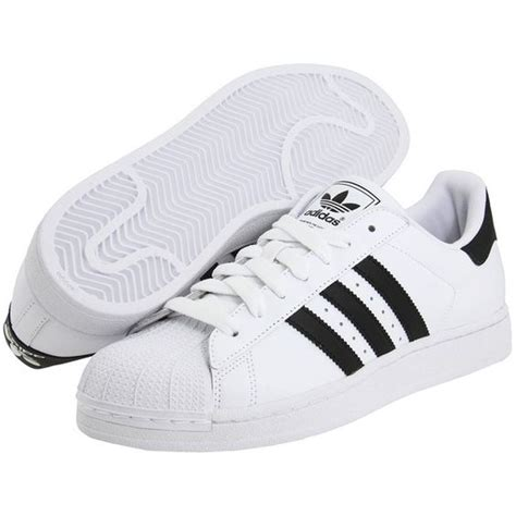 adidas flat shoes adidas originals superstar 2 75 liked on polyvore