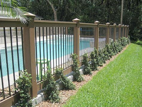 cost to fence backyard the 25 best pool fence ideas on pinterest pool ideas pool landscaping and backyard pools