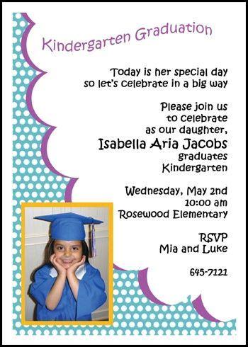 Preschool graduation invitation wording general filmwisefo