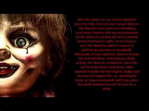 annabelle doll true facts terrifying true facts about the real annabelle the doll