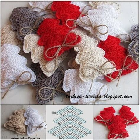 Easy Christmas Gift Crafts - 193 best free crochet christmas patterns images on pinterest crochet ornament patterns