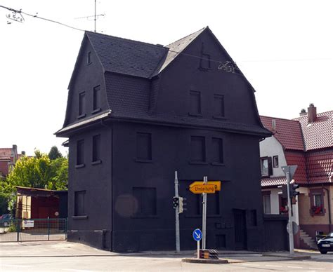 the house is black all black houses in germany interesting always