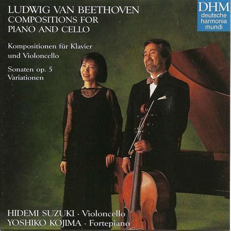Hidemi Suzuki Beethoven Compositions For Piano And Cello By Hidemi