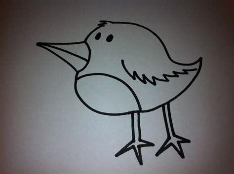 imagenes faciles para dibujar de pajaros c 243 mo dibujar un p 225 jaro de dibujo animado 6 pasos