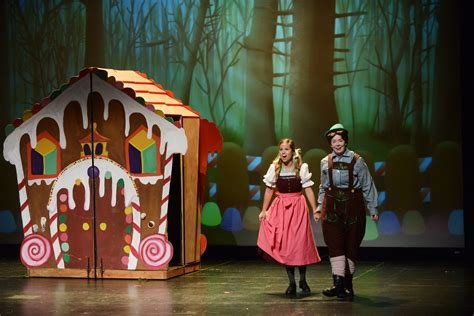 Hansel And Gretel department performs hansel and gretel for local