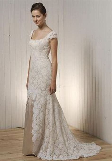 Simple Vintage Wedding Dresses by Simple Vintage Lace Wedding Dresses