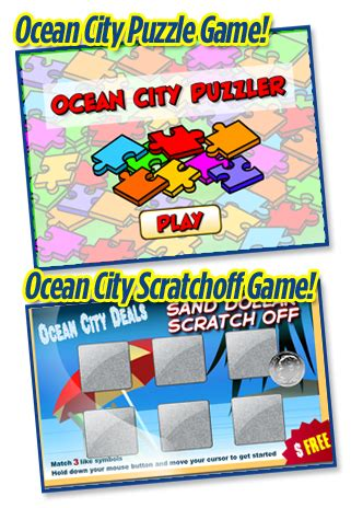 How To Play Sweepstakes Games - ocean city md specials discounts free stuff ocean city sweepstakes contests