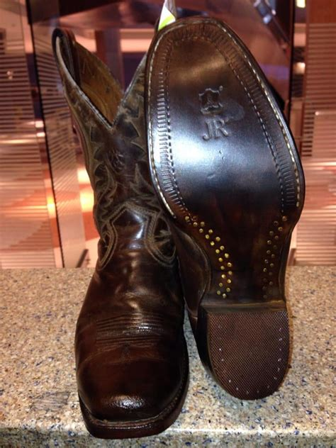 cobblers bench shoe repair men s cowboy boots resoled with jr leather yelp