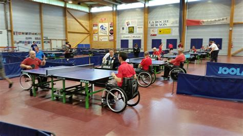 tennis de table pays de loire r 233 sultats du premier challenge handi tennis de table