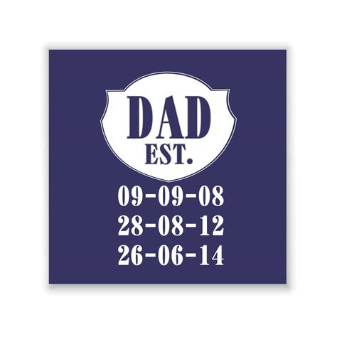 Personalized Established Dad Whiskey Glass by Giftsmate