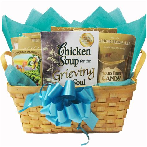 comfort basket ideas chicken soup for the grieving soul sympathy gift basket
