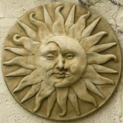 Garden Sun Faces Garden Plaque Sun Moon Flickr Photo