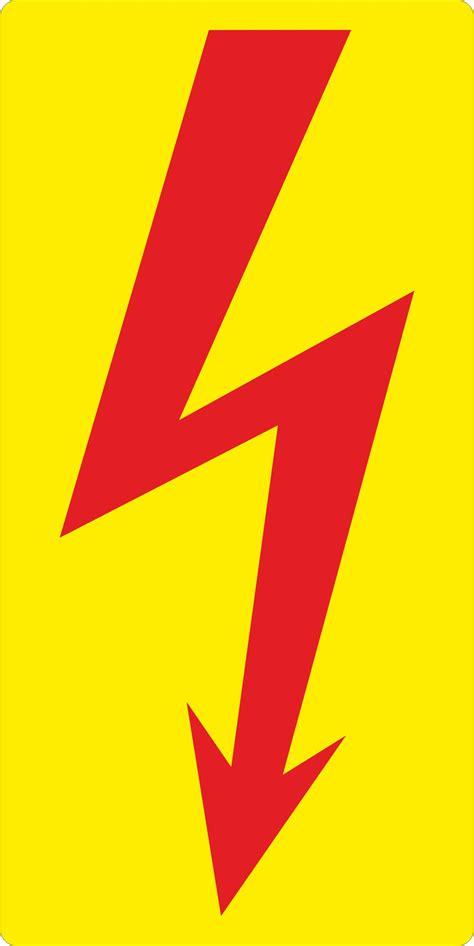 Folien Aufkleber Beschriftbar by Aufkleber Blitz Elektroblitz Steuerung Schaltschrank