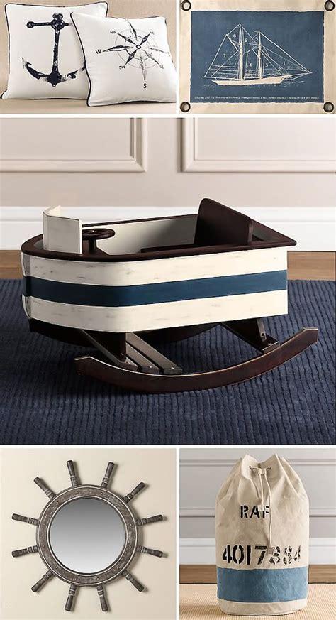 Nautical Decor Nursery Baby Boat Rocker Themes Nautical Birthday Pinterest Boys Rockers And The Pillow