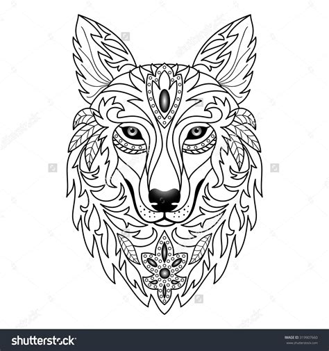 wolf print tattoo wolf vector поиск в рисунки cow