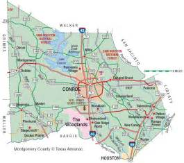 montgomery county map montgomery county the handbook of