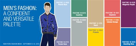 color for men men s spring 2014 colors pantone fashion color report