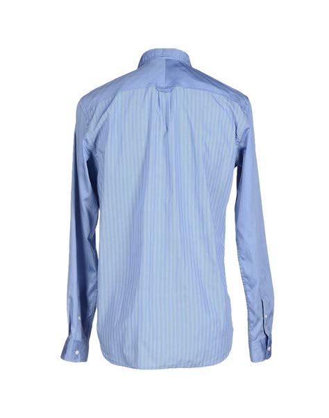 Mauro Grifoni Shirt mauro grifoni shirt in blue for lyst