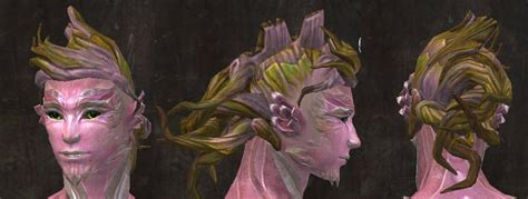 gw2 new sylvari hairstyles gw2 new hairstyles from total makeover kits for april 14