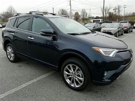 new 2017 toyota rav4 platinum awd suv in york #t39786