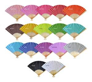 Paper Fans - fans bamboo paper fan wedding favors