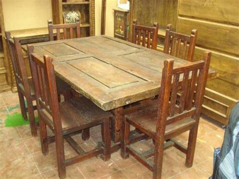 Door Dining Room Table by Dining Table Made From Door Images Frompo 1