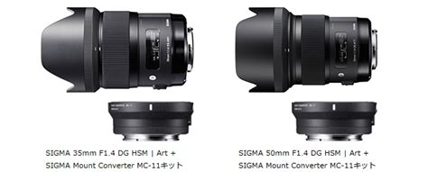 Adaptor Sigma Mc 11 sigma mc 11 mount converter lens adapter updates photo rumors