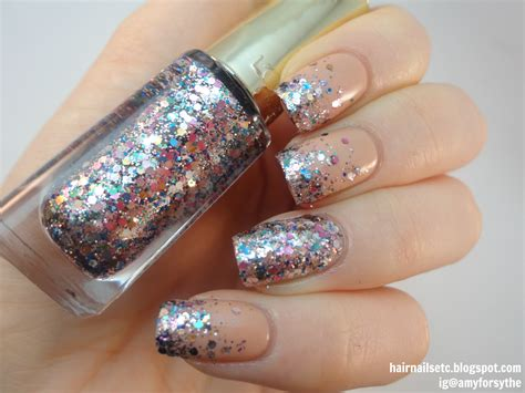 Glitter Gelnagels by Hair Nails Etc Uk Nail Rainbow