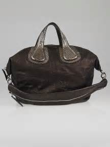 Givenchy Nightingale Leather Bags Likeb givenchy metallic brown lambskin leather medium nightingale bag yoogi s closet