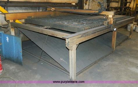 Torchmate Plasma Table by Torchmate 3 Plasma Cutter No Reserve Auction On Wednesday November 13 2013