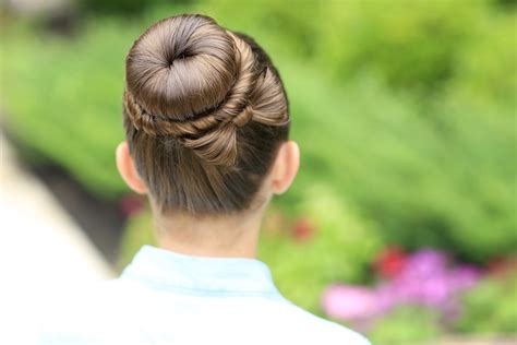Pretty Bun Hairstyles by The Bow Bun Updo Hairstyles