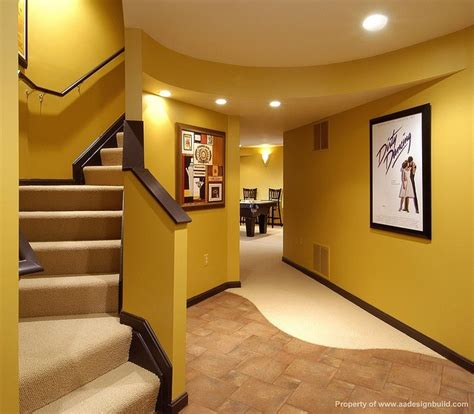 basement wall color im thinking yes home