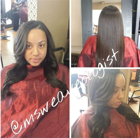 weave with minimal leave out full weave minimal leave out curled yelp