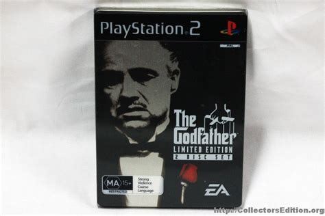 Bd Ps3 The God Ii 2 Godfather collectorsedition org 187 the godfather the limited edition 2 disc set ps2 pal