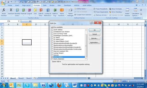 tutorial excel solver blog archives whyrutracker