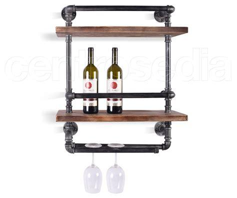 oggetti per mensole cognac porta oggetti a 2 mensole complementi di arredo