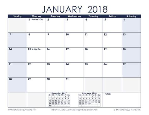Free Printable Planner 2018 Pdf