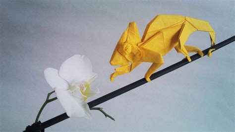 Origami Awesome - iguana fold these 28 awesome origami lizards