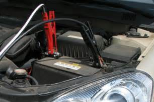 jump starting a new car how to jump a car battery do it yourself maintenance