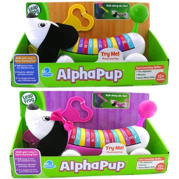 Leapfrog Alphapup Pink leapfrog alphapup puppy green pink best educational