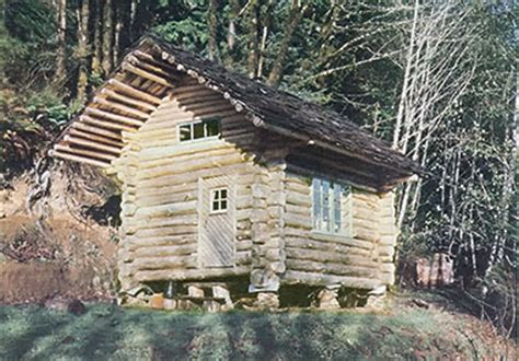 Poplar Forest Floor Plan build a log cabin for 100 green homes mother earth news