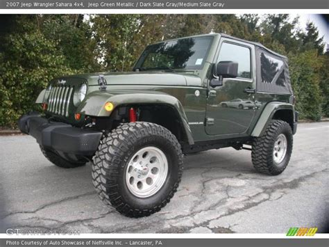 2007 Jeep Wrangler Green 2007 Jeep Wrangler 4x4 In Jeep Green Metallic Photo