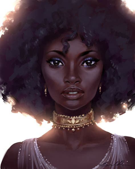black woman portrait by florin chis on deviantart black beauty speed paint by selenada on deviantart