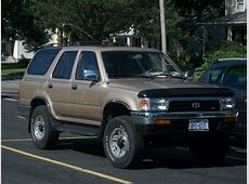 1991 Toyota 4Runner - Information and photos - MOMENTcar Morris 4x4 Jeep Information