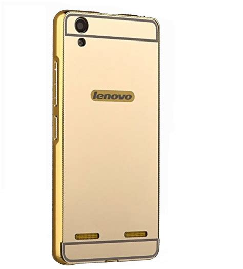Cover Hp Lenovo A6000 lenovo a6000 plus cover by kosher traders golden buy